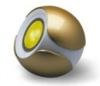 Декоративный светильник ЭРА Magic colours BGold-3