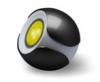 Декоративный светильник ЭРА Magic colours BBlack-3