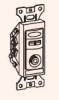 Модуль розетки телевизионной проходной TV-FM AUV7-3-7