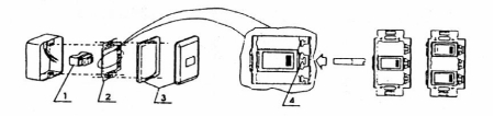 (ASJ 1002) ,  (ALX 4002),       (ALX 1708), (ALH 1231L), (ALH 1111N), (ALH 1231) , (TV socket),